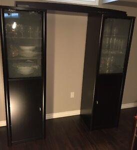 3 piece hutch/china cabinet