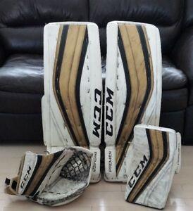 CCM Premier Pro SR Custom goalie gear