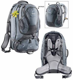 Deuter Traveller 55+10 sl backpack perfect for woman for sale Taringa Brisbane South West Preview