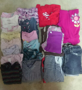 Baby girl mixed clothes