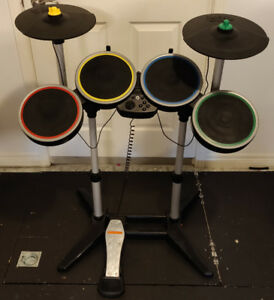 Rock band 2 drums with Cymbals - Wii / Wii U