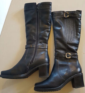 Ladies Lined Leather Boots