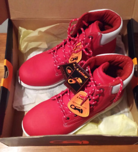 Brand new mens red LUGZ boots