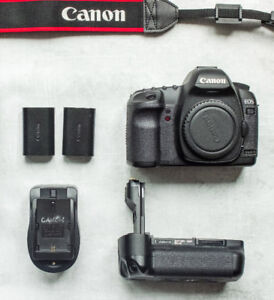Canon 5D Mark ii + Equipment- in great condition!