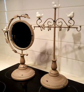 Jewellery Display & Mirror