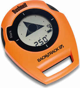 ⭆ BUSHNELL BACKTRACK GPS 2 BUTTON NEW ORANGE BLACK COMPASS ✋