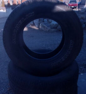 "4 - 17"" Michelin Winter Tires"