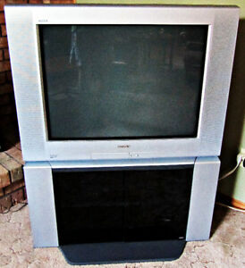 "Sony Trinitron WEGA 32"" Flat Screen TV with matching stand"