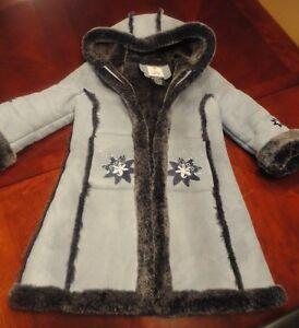 manteau d'hiver chaud grandeur 5 ans