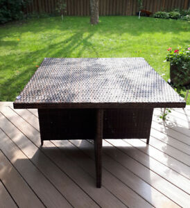 Wicker Patio Table /NEW
