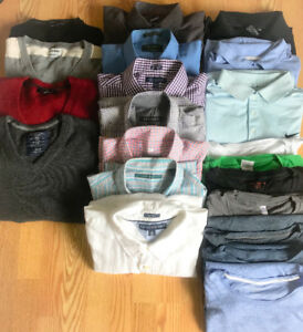 **LOT OF MEN'S SIZE XL CLOTHING FOR SALE**