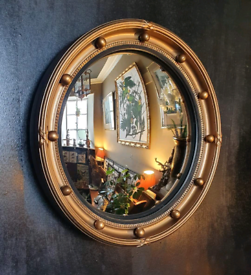 Atsonea Regency Style Porthole Convex Mirror