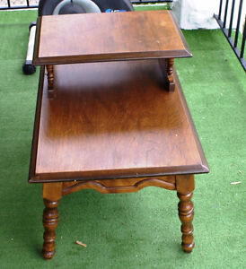 Solid wood coffee table or tea table or side table London Ontario image 1