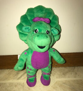 "Barney the Purple Dinosaur friend Baby Bop 9"" Plush Stuffed Doll"