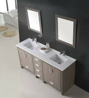 ⎷⎛Contemporary Bathroom Vanity & Cabinet SoleiL Series