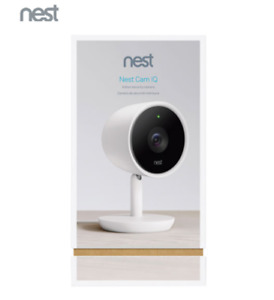 Brand New Sealed Nest Cam IQ Wi-Fi Indoor 1080p IP Camera