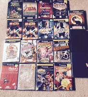 Gamecube games for sale