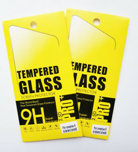 Oneplus 6 1+6 Tempered Glass Screen Protector Cellphone
