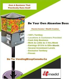 Vending Business Opportunity } Little E - Big $ | Peterborough
