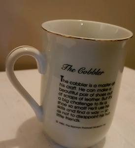 Norman Rockwell Collector Cups