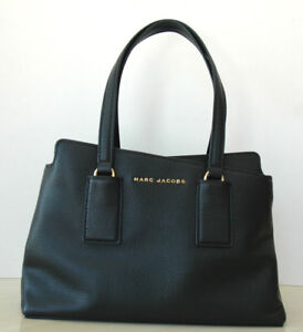 NEW! Marc Jacobs Black Leather Tote