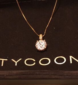 NEW: Solitaire Pendant TYCOON  for Diamonelle