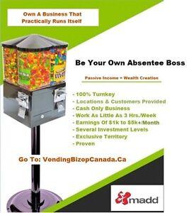 Vending Business Opportunity } Little E - Big $ | Kingston