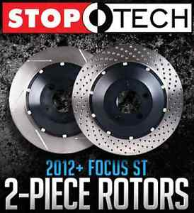 StopTech Two-Piece Rotors for 2012+ Ford Focus ST - Limitless