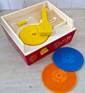 Vintage 1971 Collection. Fisher Price. Music box Record Player