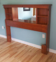 Bookcase Headboard - Queen Size (Must go)