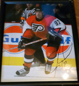 Jeremy Roenick autographed NHL Hockey picture