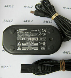 Samsung AA-E8 Camcorder AC Power Adapter
