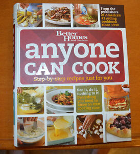 2 COOKBOOKS - Better Homes: Anyone Can Cook + Campbell's: 3-in-1