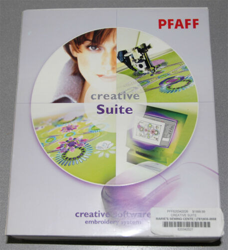 PFAFF Creative Suite Embroidery Software Complete Stitch Editor Cross Stitcher