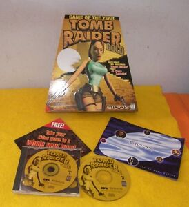 TOMB RAIDER Gold - Vintage PC Game