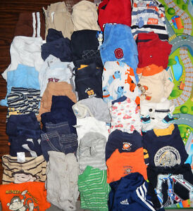 Lot of 35 items - Baby Boy clothes - 6 months to 9 months old