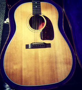 Gibson J45 Natural finish 1995