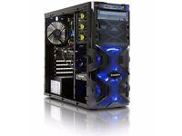 Gaming Tower -Quad Core i7 -16g ddr3 ram - 256 SSD - 2 TB Storage