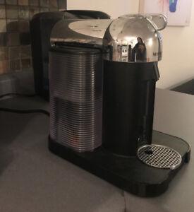 Nespresso Vertuoline coffee machine with extra coffee capsules