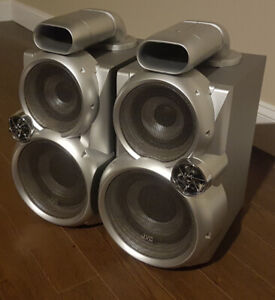JVC MX-GC5 460-Watt GIGA Tube Audio System Speakers