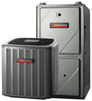 No interest 0% financing on Amana Central Air conditioning
