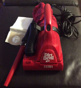 Dirt devil ultra handheld vacuum