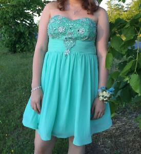 Short Semi Formal/Prom/Grade 9 Grad Dress