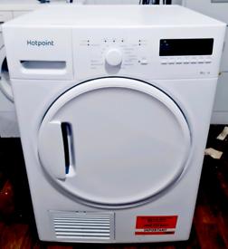 8kg Hotpoint Digital Condenser Dryer- Free local delivery