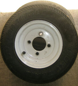 trailer rims and spare tires