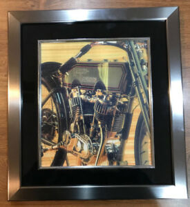 Harley Engine Canvas Print