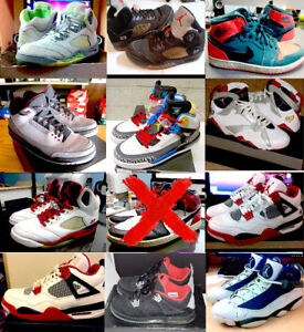 Jordans ( Some  Beaters & Good condition)  - ($60 to $220)