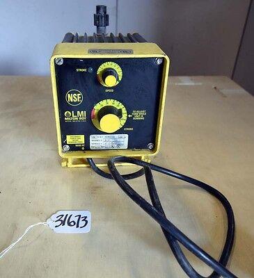 Lmi Milton Roy B131 Electromagnetic Dosing Pump Inv.31673