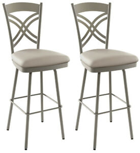 BNIB - AMISCO Chain Counter Height Stools/Chairs - Pair
