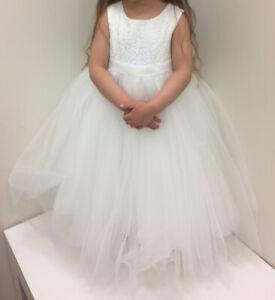2d69a5b0345 Flower Girl Dress - David s Bridal - asking  150 OBO